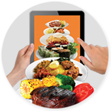 Food Ordering from Tablet